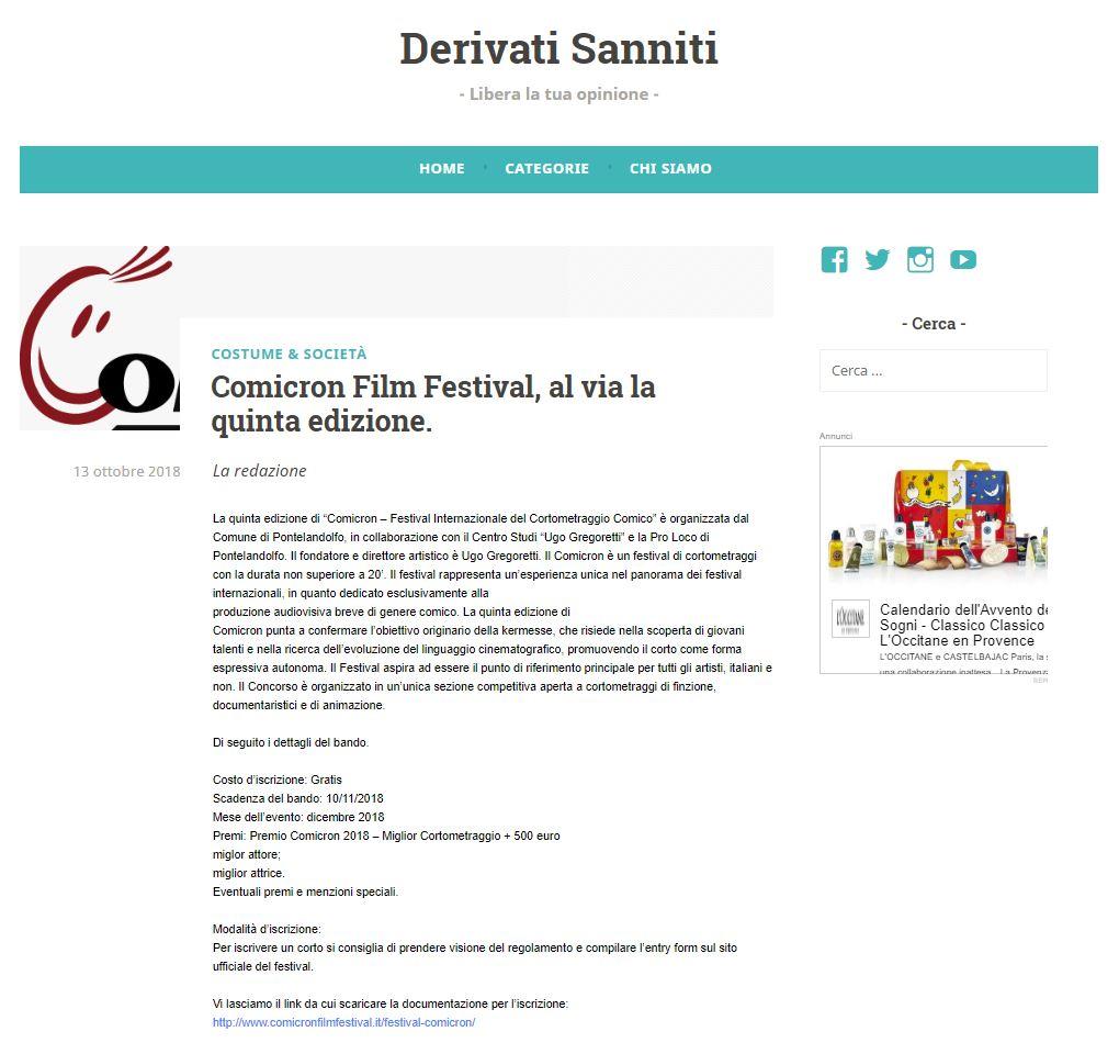 Derivati Sanniti_2018