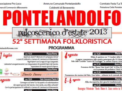 Locandina - Settimana Folk 2013